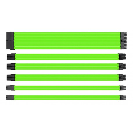 Yeşil Sleeve Güç kaynağı uzatma seti