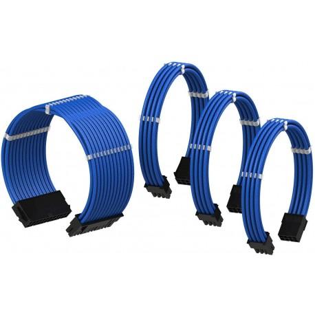 Mavi Sleeve Güç kaynağı uzatma seti
