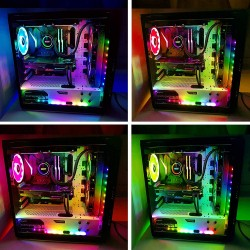 Speclux Magnetic Rainbow Kontrolcülü Led