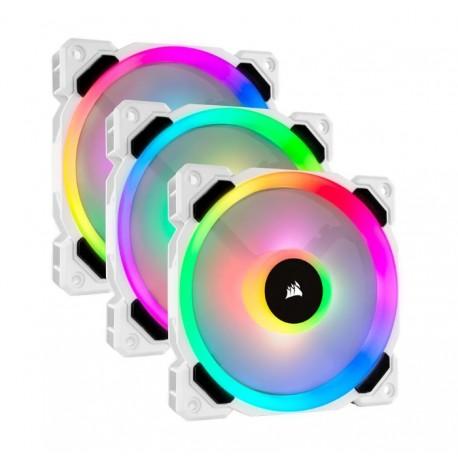 CORSAIR LL120 RGB 3x120mm BEYAZ FAN + NODE PRO Kontrolcülü Kit
