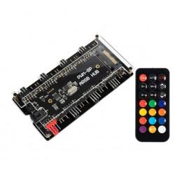 ARGB & PWM 2 in 1 Çoklayıcı, Kontrolcülü Hub