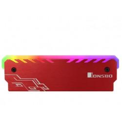 NC-1 JONSBO RGB BELLEK SOĞUTUCU 2'li Paket RED