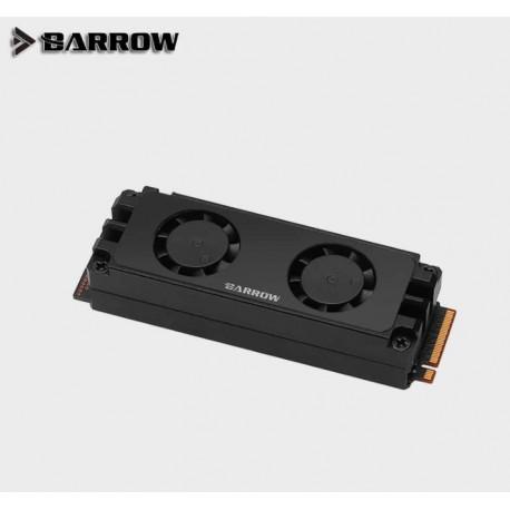 Barrow SSD Block Dual Fan M2 Soğutucu
